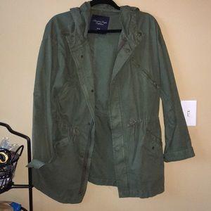 Olive American Eagle Jacket